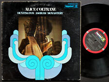 ALICE COLTRANE Huntington Ashram Monastery LP IMPULSE AS 9185 US '72 Rashied Ali