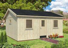 160 mm Gartenhaus Pernilla 548x448 cm Holzhaus Ausbauhaus Nordic Holz Haus