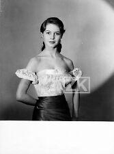 BRIGITTE BARDOT Teen Ado Actrice Portrait Photo 1950s