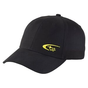 Genuine Subaru Logo Cotton Twill Cap Hat Impreza STI WRX Racing Forester Outback