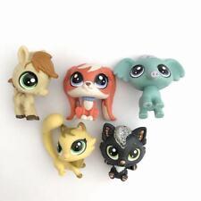 Lot5pcs/Set Littlest Pet Shop Hasbro LPS  Elephant Horse Animals Figure Toy Gift