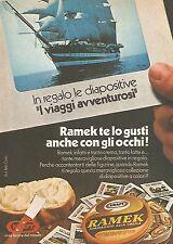 X0423 RAMEK Kraft - Formaggio alla crema - Pubblicità 1976 - Vintage advertising