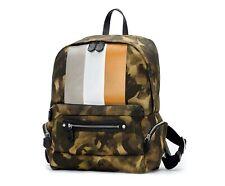 GHURKA GMEUB159CMOR Weston II NO.159 Backpack Men's Twill Camo Orange Stripe NWT