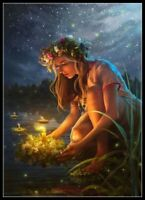 Kupala Night - Chart Counted Cross Stitch Pattern Needlework Xstitch craft DIY