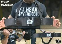 BICEP BOMBER Deluxe Body Building Arm Isolator Curl Biceps Triceps Blaster