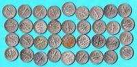 USA -  Roosevelt One Dime Sammlung - 1966 - 2001 - Kupfer - Nickel Münzen