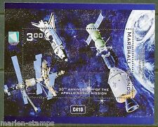 marshall inseln 2015 30th anniversarny apoll 0-soyuz mission mint nh