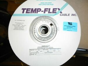 Temp-Flex F3007S-68-025-85 30AWG Ribbon Cable, 68 Conductor   NOS