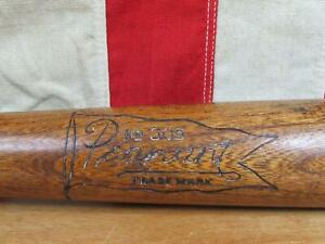 Vintage 1930s Pennant Wood Baseball Bat No.305 Leaguer HOF Joe Cronin Model 36""
