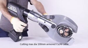 Hydraulic Cable cutter, Battery Powered  Cutter, Power Cutter - Max Dia 100mm