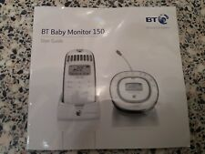 BT baby monitor 150 - user guide manual instructions original hard copy