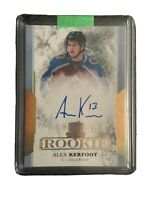 17-18 The Cup Rookie Auto - Alex Kerfoot 13/36 JSY# COL