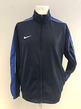 Mike Mens Navy Blue Running Jacket Fleece Tracksuit Jacket Size Medium NEW  W10