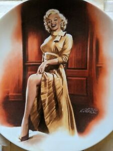"Marilyn Monroe ""Monkey Business""  Decorative Plate  #217"