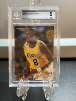 1996-97 Skybox NBA Hoops Kobe Bryant Rookie #281 PSA BGS 9 Mint RC 🔥🔥