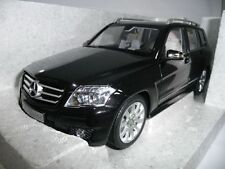 MERCEDES-BENZ GLK X204 OBSIDIANSCHWARZ 1:18 MINICHAMPS DEALER VERY RARE