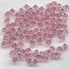 T5 5301 LR ** 20 toupies cristal Swarovski 5mm LIGHT ROSE