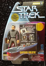 DS9 Captain Koloth Tribble - ations Warp F 1 1997 Playmates Star Trek Unopened