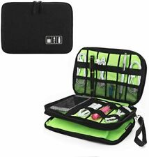 Electronic Accessories Cable Organizer Bag, ECZO Electronics Organizer Case Wate