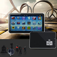 "5"" inch GPS Sat Nav 4GB 128MB FM Touch Screen Car Navigation System Free Maps"