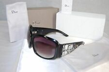 SUPER GORGEOUS!!! Christian Dior 'On The Rocks'  807mh CRYSTAL WOMEN SUNGLASSES