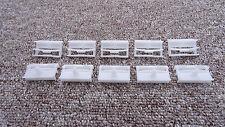 Nissan côté sill jupe trim clips intérieur/extérieur fasteners 10PCS