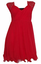 Ärmellose Melrose Mini-Damenkleider mit V-Ausschnitt