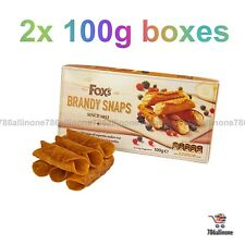 2 x Boxes Of Fox's Brandy Snap