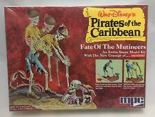 "MPC PIRATES of the CARIBBEAN ""Fate of the Mutineers"" NEW model kit 1972 disney"
