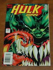 Hulk 2099 (1994) #2  Adam Kubert Davis VF- Marvel Comics