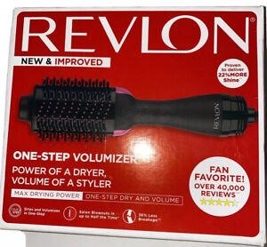 Revlon RVDR5222MNT 1100W Hair Dryer and Volumizer Hot Air Brush - Black