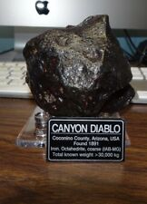 1108 gm . CANYON DIABLO IRON METEORITE ; TOP GRADE; ARIZONA 2.5 POUNDS