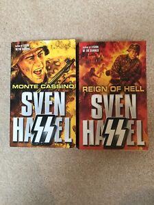 Two Sven Hassel books - VGC