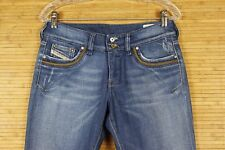 WOMENS DIESEL JEANS VERY GOOD PREOWNED GONDITION.SIZE 28X30 MEDIUM BLUE  #687