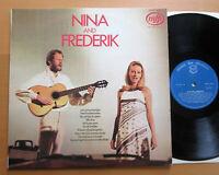 MFP 1401 Nina And Frederik EXCELLENT Vinyl LP Music For Pleasure