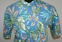 Vintage Reyn Spooner Mens Short Sleeve Hawaiian Shirt Size L Large Aloha