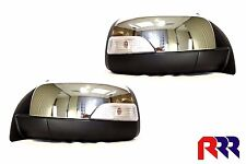 FORD RANGER PX UTE 2011-2015 NEW DOOR MIRROR CHROME ELECTRIC WITH FLASHER- PAIR