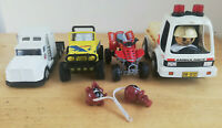 Small Bundle of Kids Toy Cars / Trucks Retro