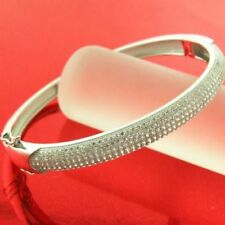 More than 25.5cm Sterling Silver Fine Bangles