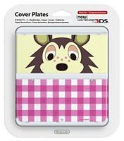 New Nintendo 3DS Kisekae plate No.016 (Animal Crossing) Japan Import