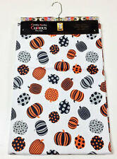 "Halloween Striped & Dot Pumpkins 90"" Table Runner by Designer Cynthia Rowley"