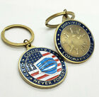 Pandemic challenge coin Keychain 2020 19covid virus coron stocking stuffer gift
