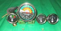IH Farmall Gauge Set 300 350 Gas/ Utility Tachometer+Temperature+Oil+ Ampere