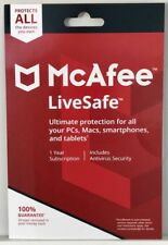 MCAFEE LIVESAFE 2018 -  FOR UNLIMITED DEVICES  - DOWNLOAD
