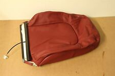 VW Beetle 2006-2010 front left seat red leather cover 1C0881805CL SUF Genuine VW