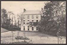 Postcard Winfrith Newburgh near Lulworth Dorset view of The Rectory posted 1909
