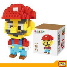 LOZ - Toy Blocks Diamond Building Blocks Figure - Super Mario Bros 160pcs M-9338