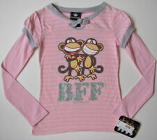 Nwt Bobby Jack Pink BFF Best Friends Forever Tee Top girls size M 8 10 New