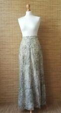 St Michael Cotton Maxi Skirt 12 Long Boho Peasant Festival Vtg Marks & Spencer