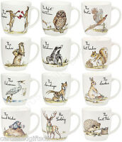 Churchill Country Pursuits China Mug Fox Hare Owl Badger Otter Stork Mole Goose